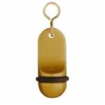 Hotel Schlüsselanhänger Alu gold SAA111 nur Nummer möglich