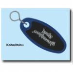 Schlüsselanhänger Kunststoff kobaltblau SA18