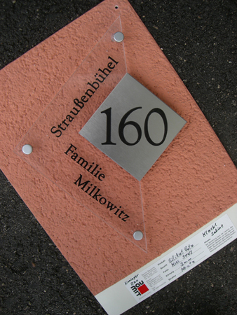 Design Hausnummer 102