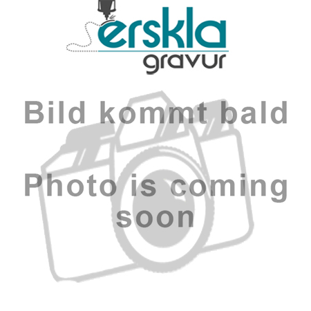 Garderobenmarke Alu 40x45mm