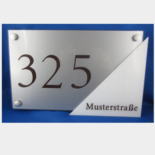 Design Hausnummer Standard